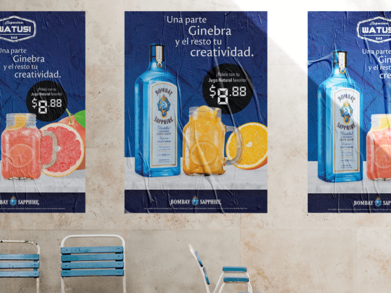 Bombay Sapphire: Natural Juices Promo