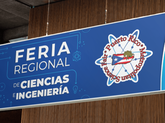 PR Metropolitan Science Fair: Banner