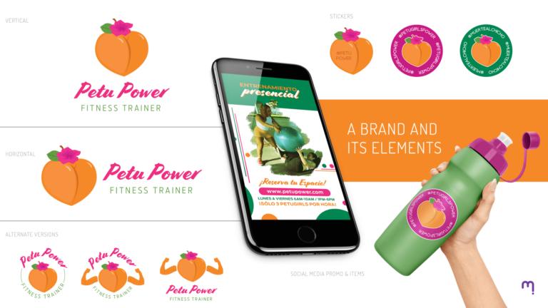 Petu Power Brand Identity